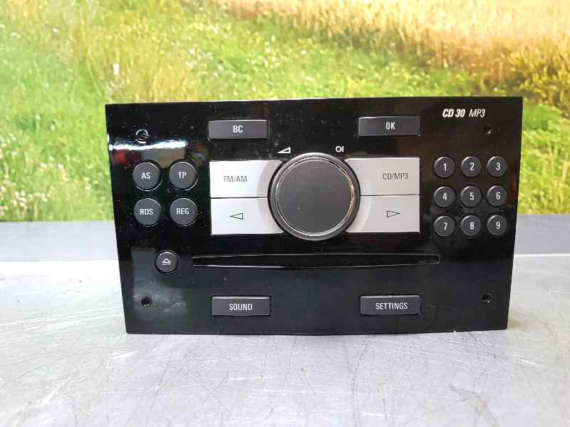 radio opel zafira b a05 1 7 cdti m75 b parts. Black Bedroom Furniture Sets. Home Design Ideas