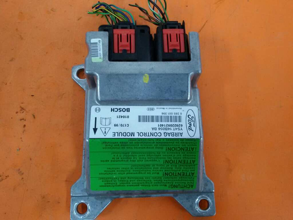Airbags Ecu Ford Focus Daw Dbw 16 16v 734985 Wiring 1133609 16v5 Doors