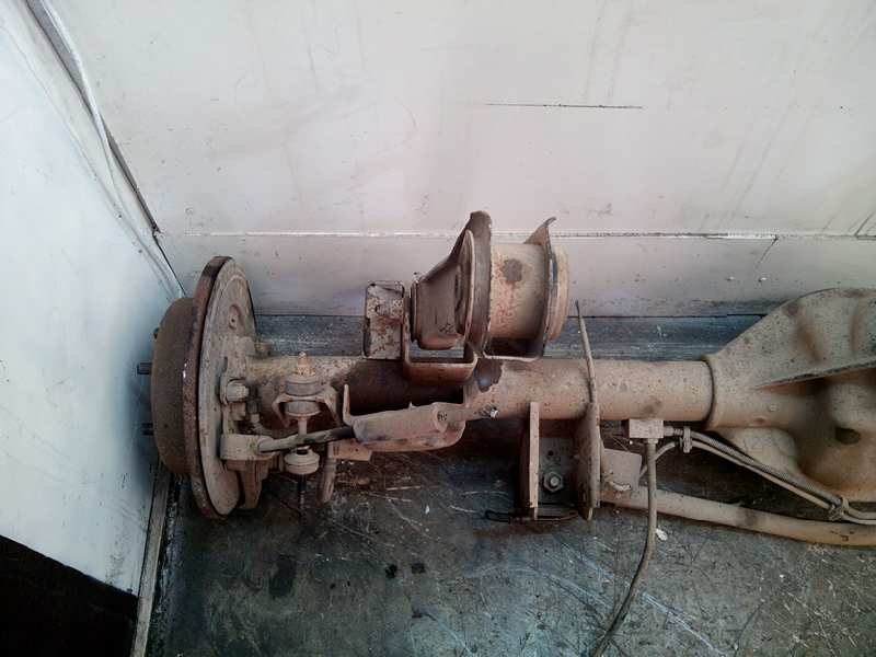 Rear Axle