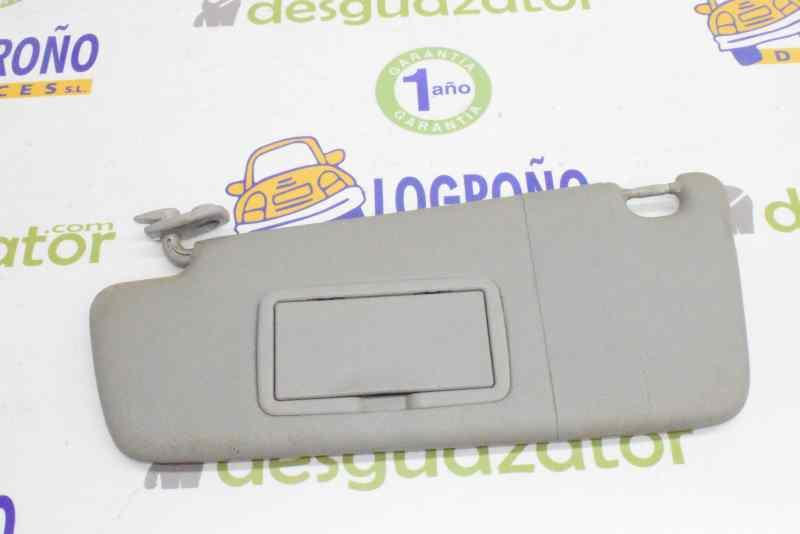 Corsa D 2007-ON Sunvisor Passenger side Grey with Mirror 13163839