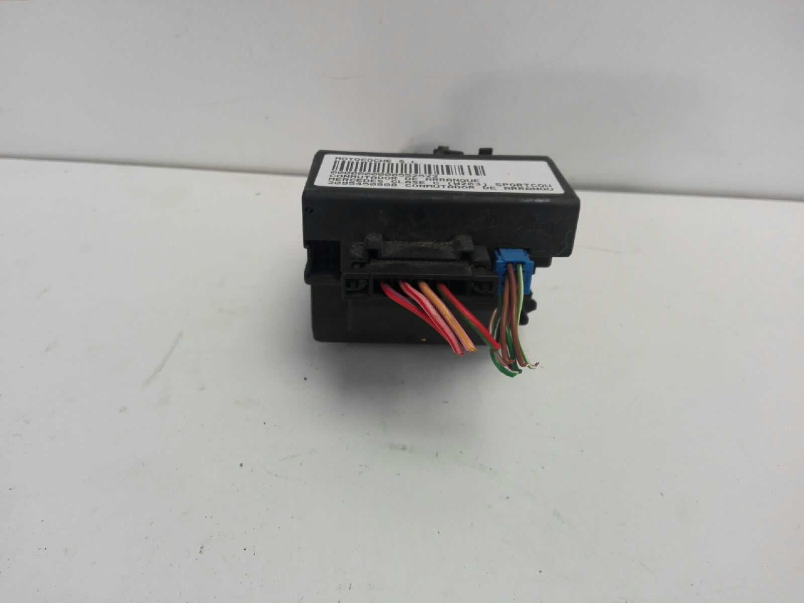 Ignition Barrel Mercedes Benz C Class Coupe Cl203 220 Cdi Wiring Cannon 2095450508