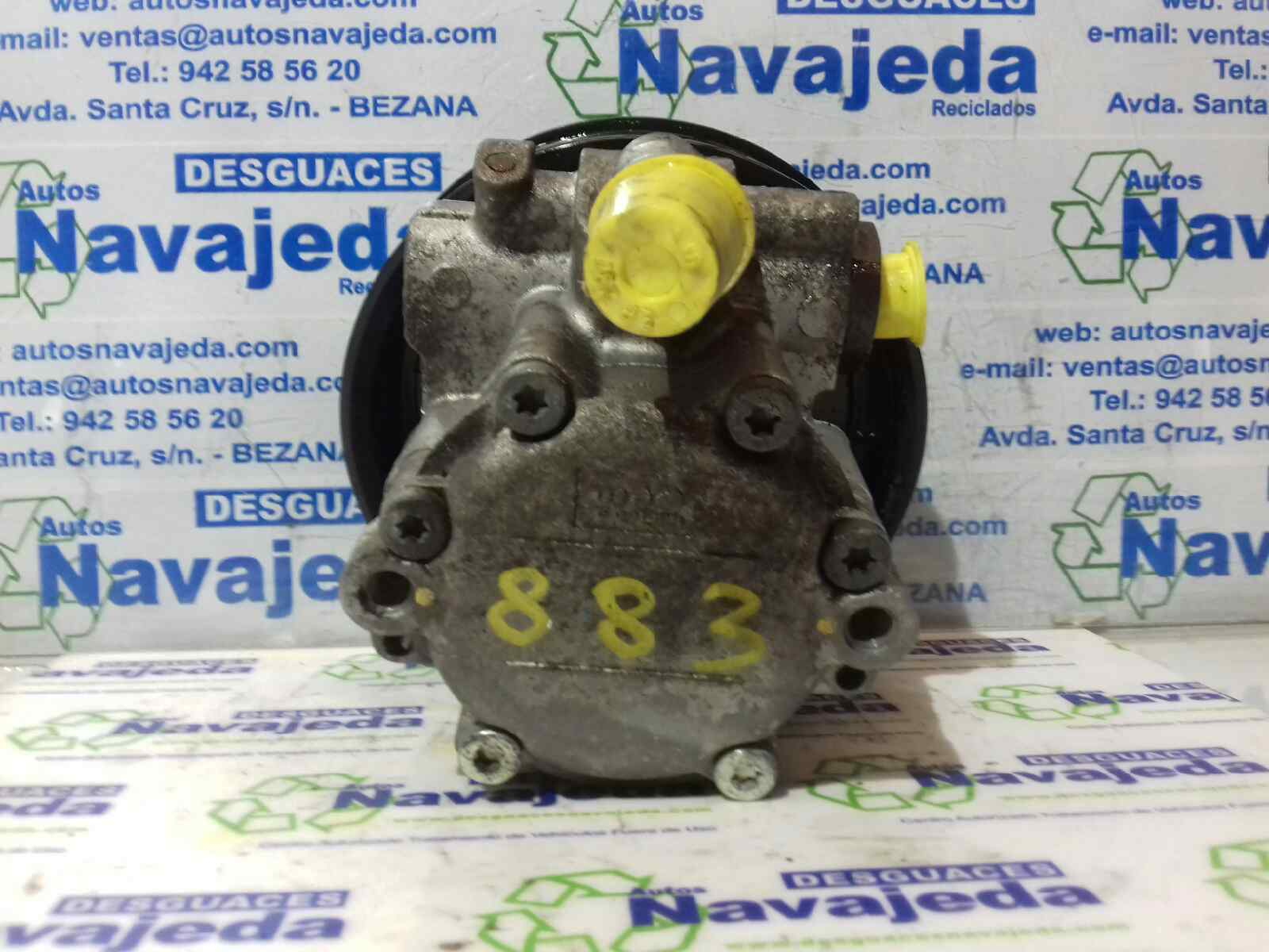 Steering Pump Renault Trafic Ii Box Fl 20 Dci 115 Fl01 Fl0u 369919 Under Bonnet Fuse 76139555777613955577