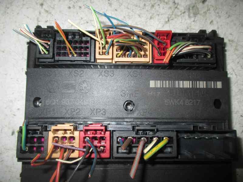 fuse box 6q1937049f seat, ibiza iii (6l1) 1 9 tdi(5 doors)