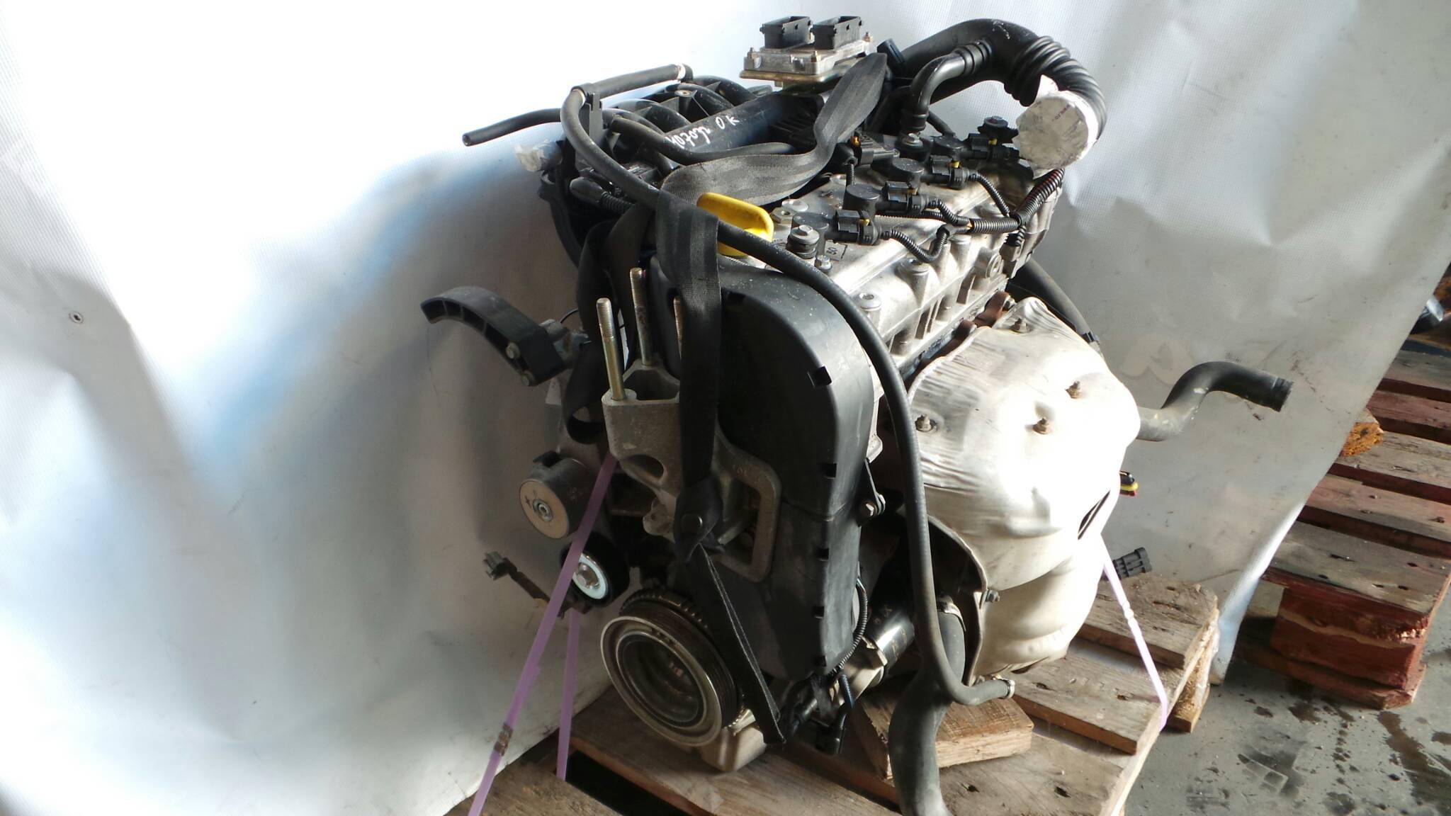 Engine Fiat Idea 350 14 16v 10446 Fuse Box Complete 1002368 95hp 843 A1