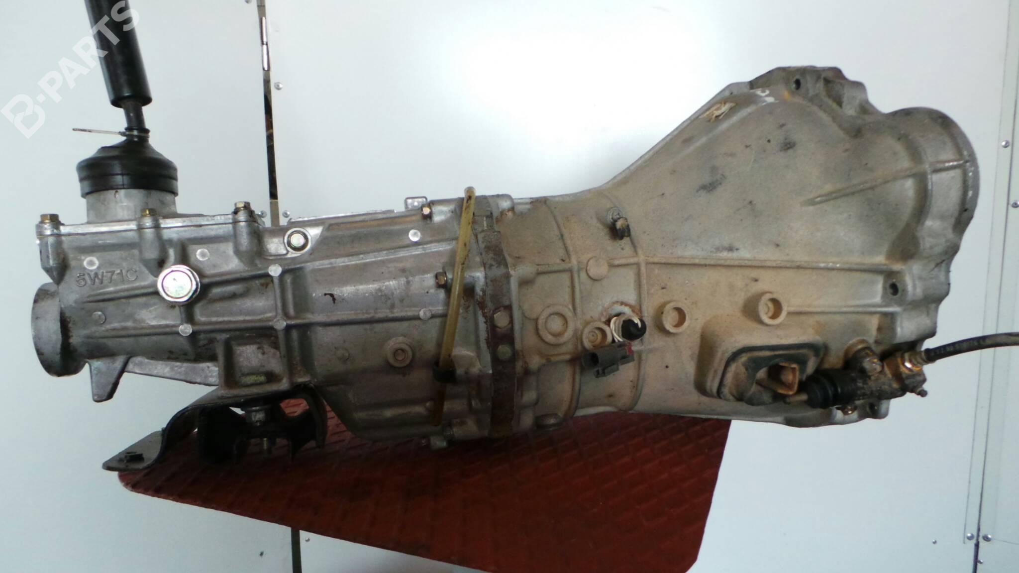 Manual Gearbox Nissan Pick Up D21 25 D 11493 1985 Hardbody Engine Schematics 80hp Td25