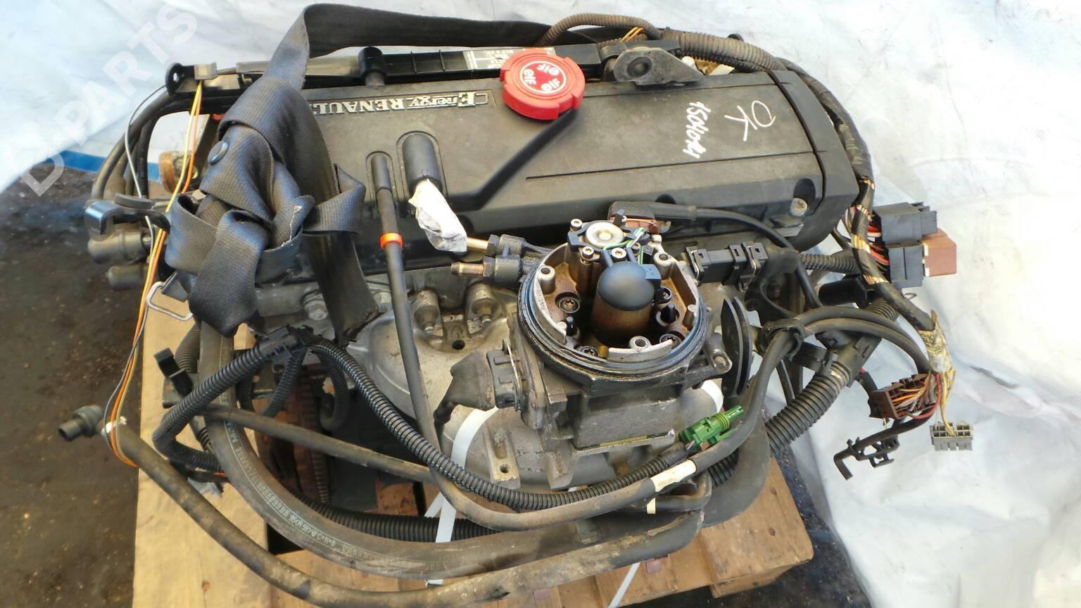 Engine Renault 19 Ii B C53 12 18653 Fuse Box Location Complete C003364 125 Doors