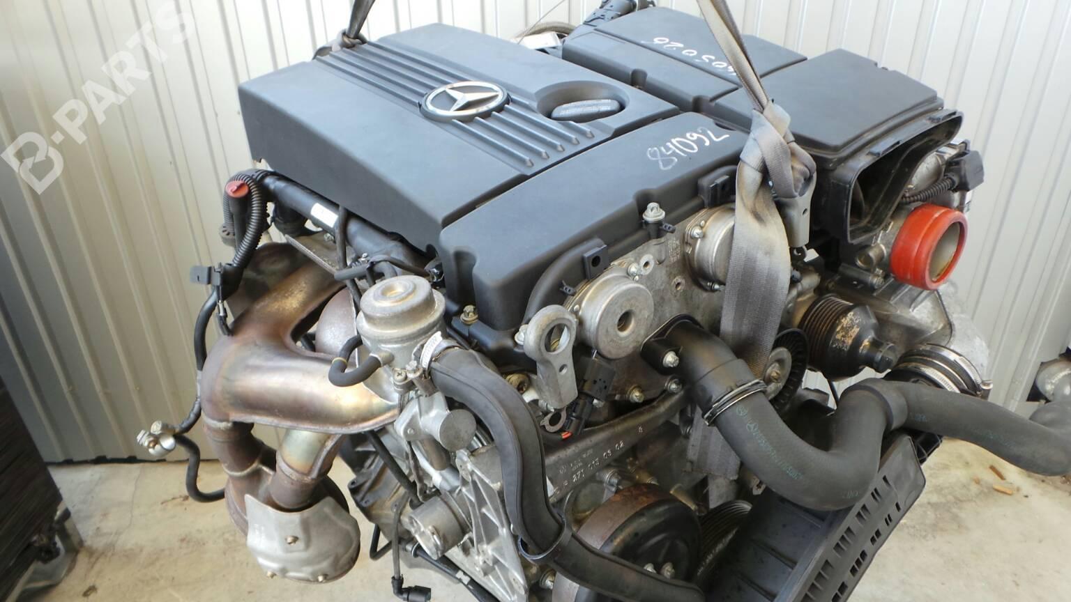 Engine mercedes benz c class w203 c 180 kompressor 203 for Mercedes benz c class engine