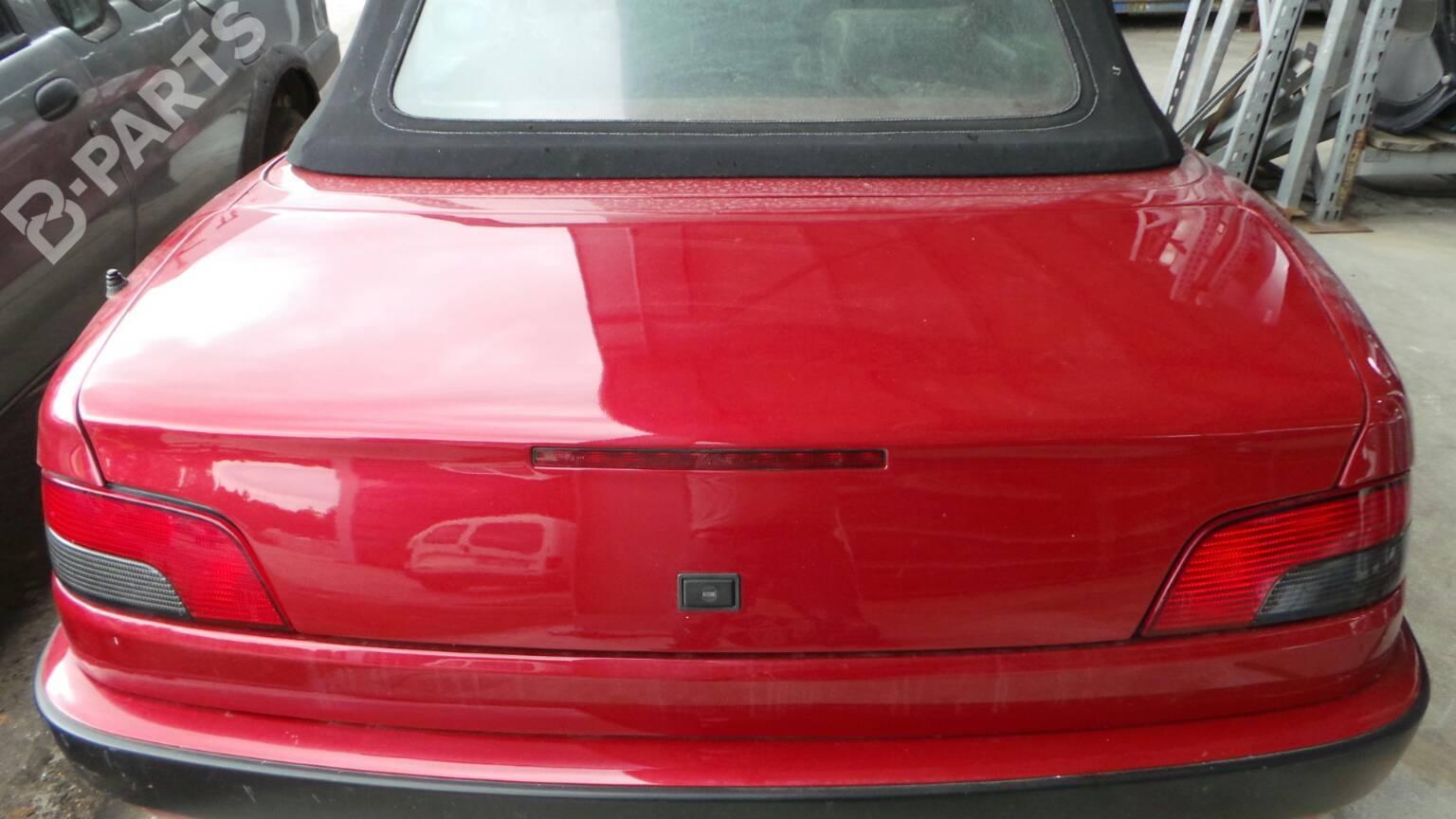 Tailgate Peugeot 306 Convertible 7d N3 N5 18 128673 Fuse Box Brake Lights 182 Doors