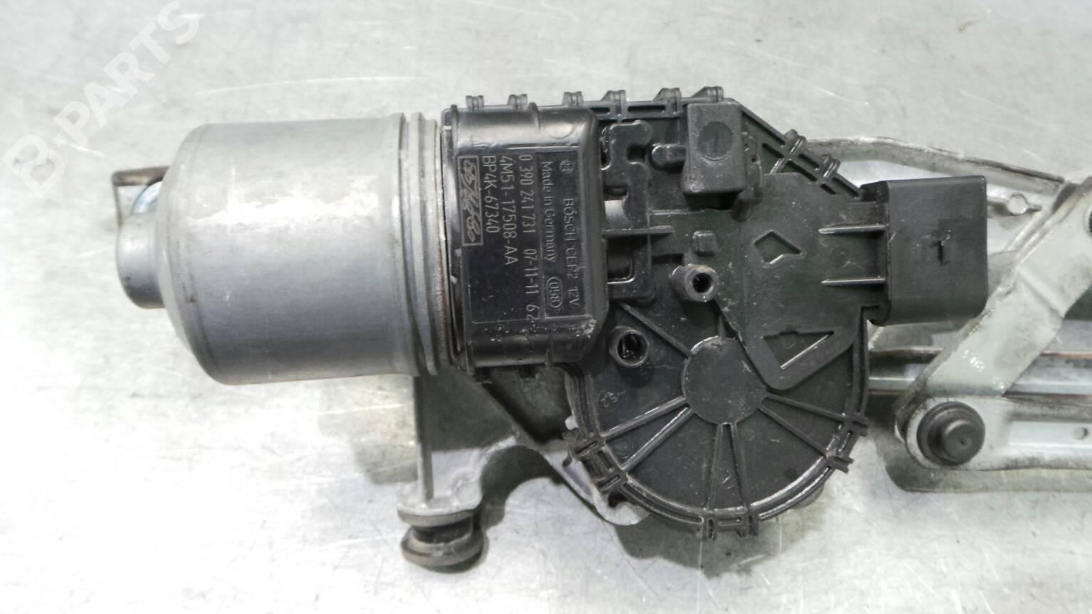 Front Wipers Mechanism