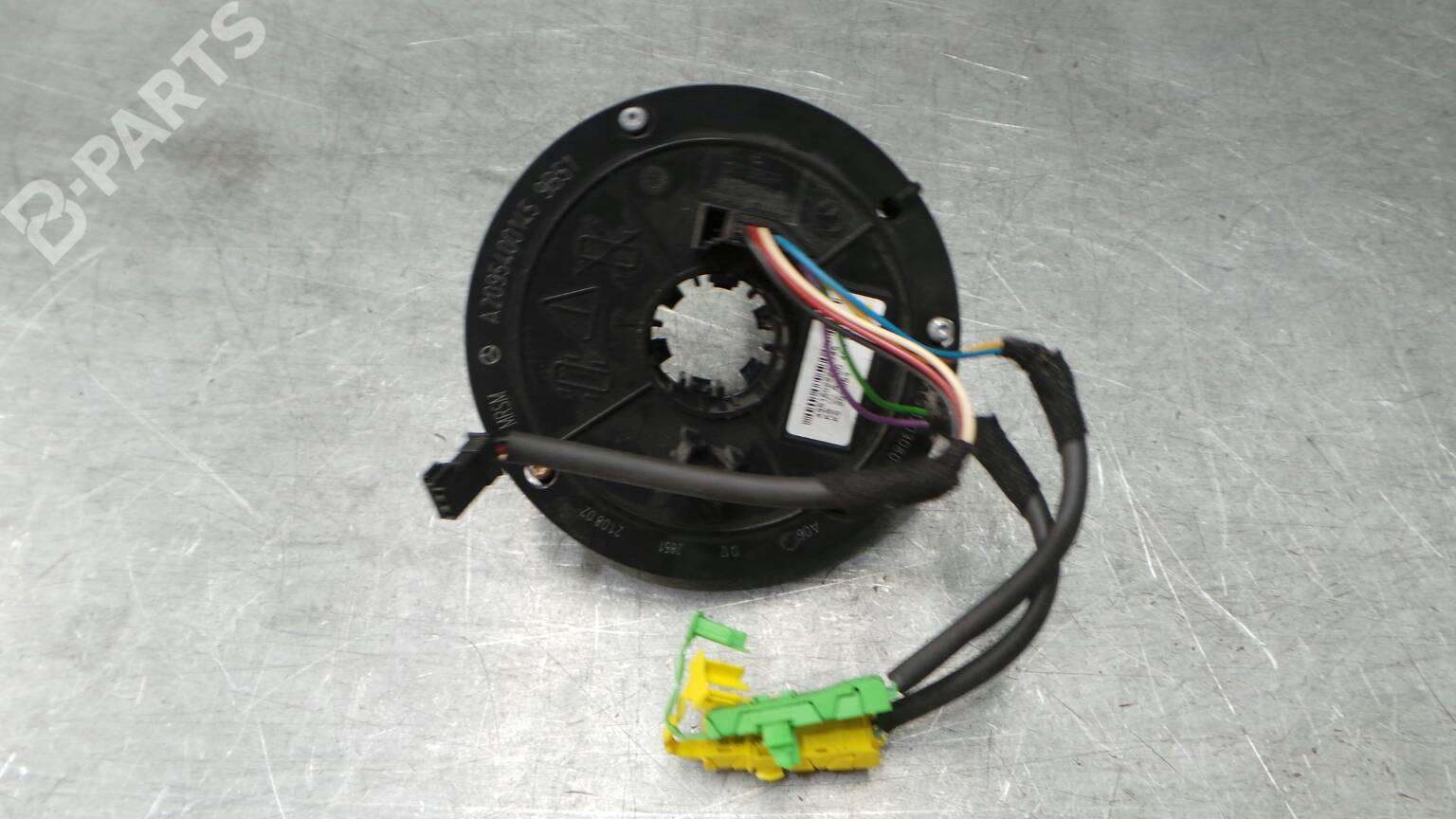 Airbag Squib Mercedes Benz C Class Coupe Cl203 220 Cdi 203706 Wiring A2095400145 A0004640618