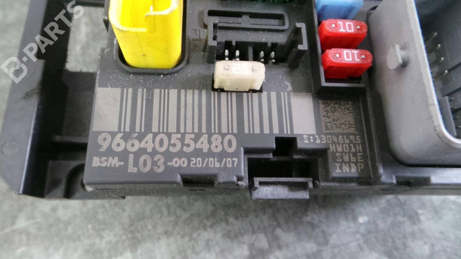 Fuse Box Citron C3 I Fc Fn 11 1122752 For Citroen 9664055480 I5