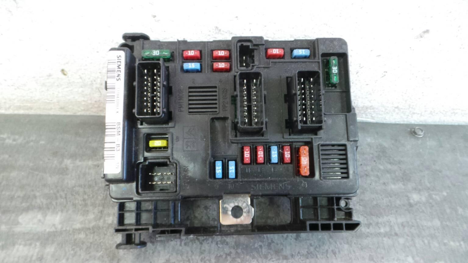Fuse Box Citron C3 I Fc 11 1175334 Siemens 9650618480 00 I5