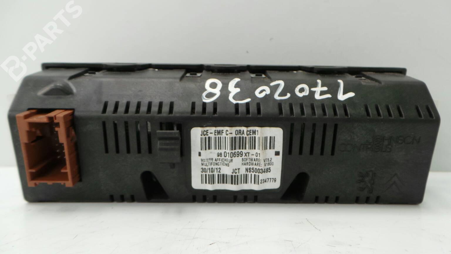 Display Monitor CITROËN C3 II (SC_) 1 4 HDi 70 | B-Parts