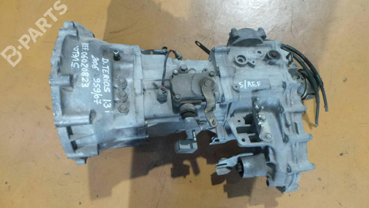 manual gearbox 06020823 daihatsu, terios (j2_) 1 3 vvt-i 4x4 (86hp
