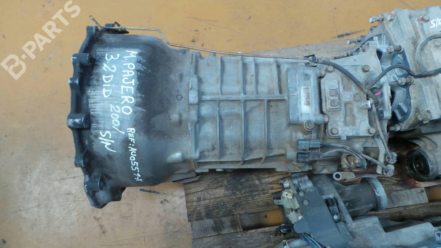 Manual Gearbox Mitsubishi Pajero Iii V7 W V6 32 Di D V68w 27778 Diagram V5m316x Au0551