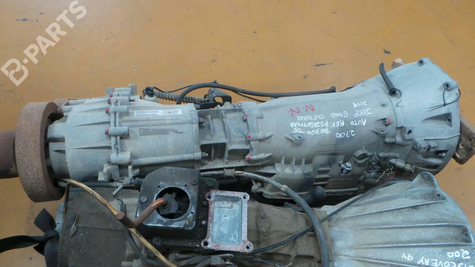 Automatic Gearbox Jeep Grand Cherokee Ii Wj Wg 27 Crd 4x4 27949 Fuse Box Taq302401185 P52852974ab