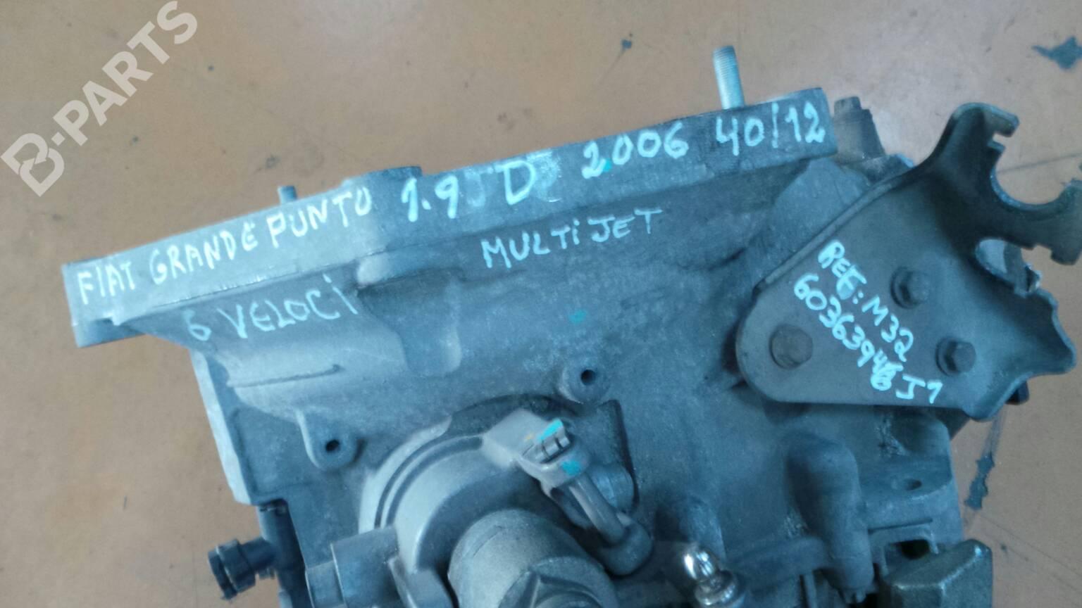 Manual Gearbox Fiat Grande Punto 199 19 D Multijet 28236 Fuse Box M32 60363946j1 130hp