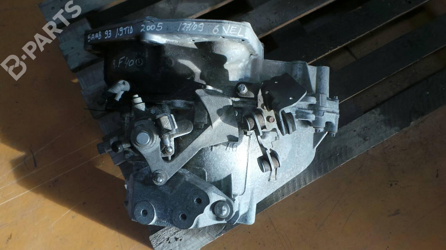 Manual Gearbox Saab 9 3 Ys3f 19 Tid 28359 2007 Engine Diagram F40 120hp