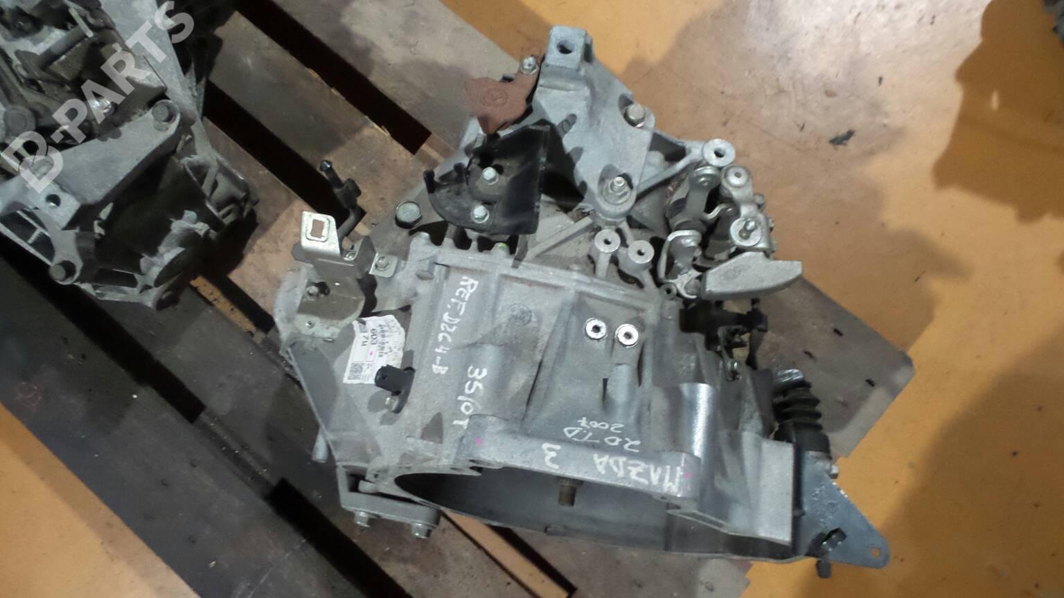 Manual Gearbox Mazda 3 Bk 20 Mzr Cd 28451 2006 Engine Diagram D2c4 B