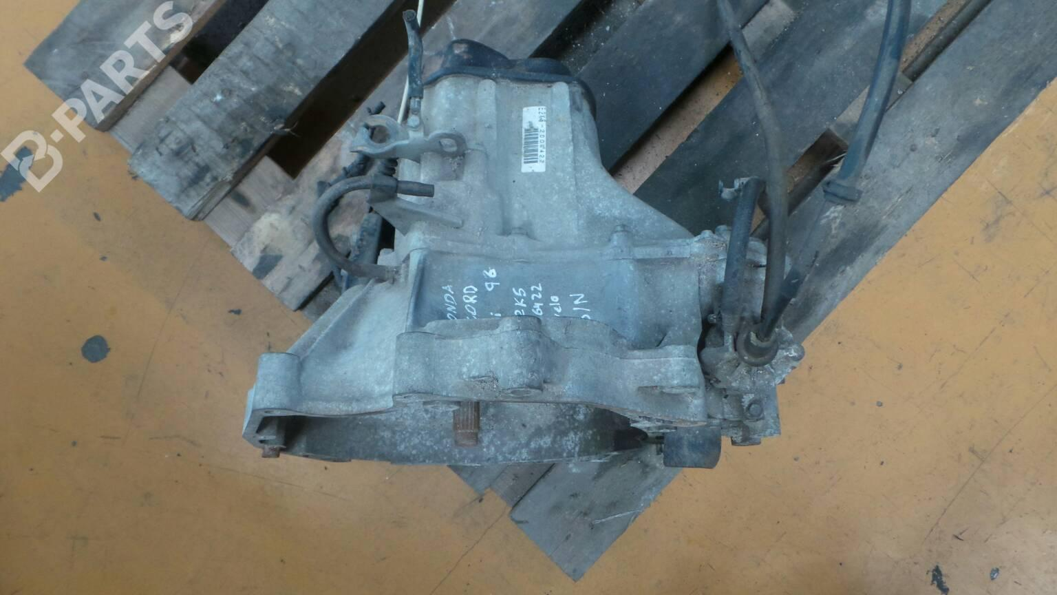 Manual Gearbox Honda Accord V Cc Cd 20 I 28853 1996 Parts Diagram E2k5 2006422