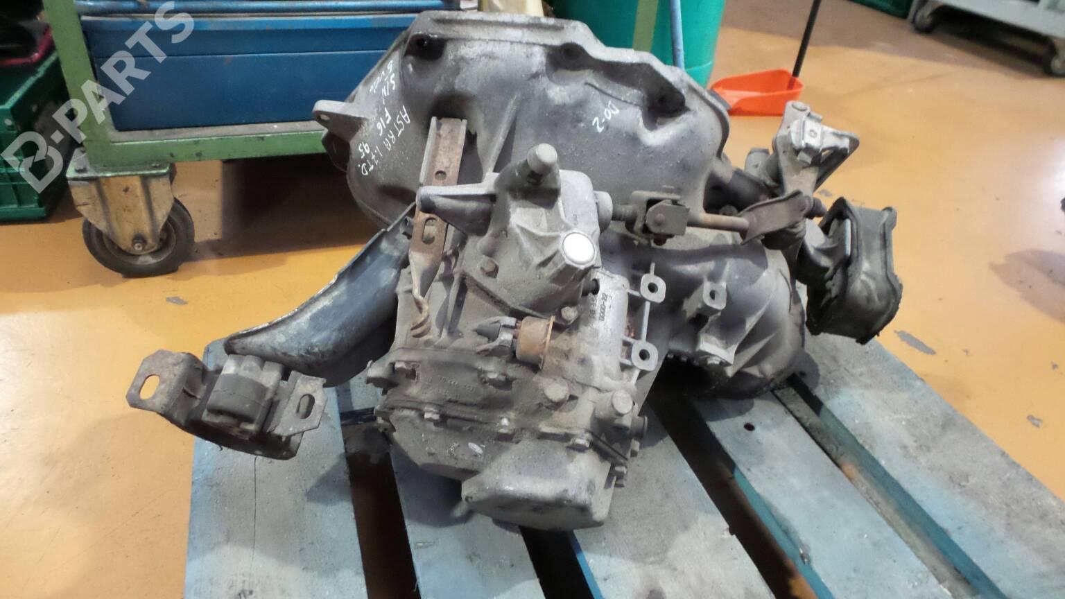 manual gearbox opel astra f 56 57 1 7 td 31981 rh b parts com