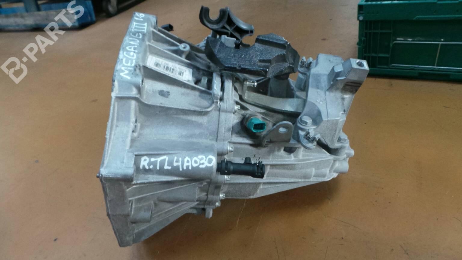 manual gearbox renault megane iii hatchback bz0 1 6 16v bz0h 32435 rh b parts com Renault Megane Kreg K4MS Rebate