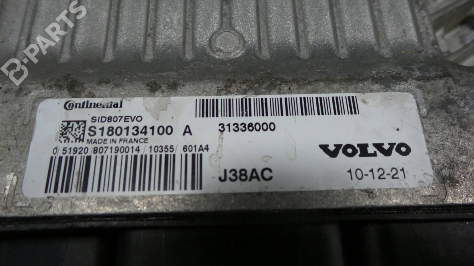Engine Control Unit Ecu Volvo C30 533 16 D 35729 Fuse Box 31 336 000 S180134100 109hp
