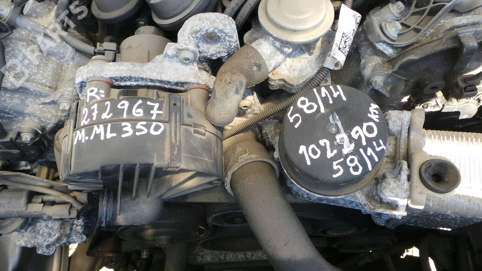 Engine Mercedes Benz M Class W164 Ml 350 4 Matic 164186 36979 Ml350 2005 Parts Complete 272967