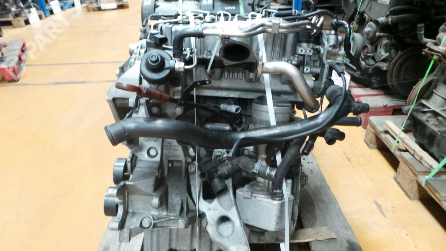 Engine Audi A4 8k2 B8 20 Tdi 38952 2009 Fuse Box Complete 059611 143hp Caga