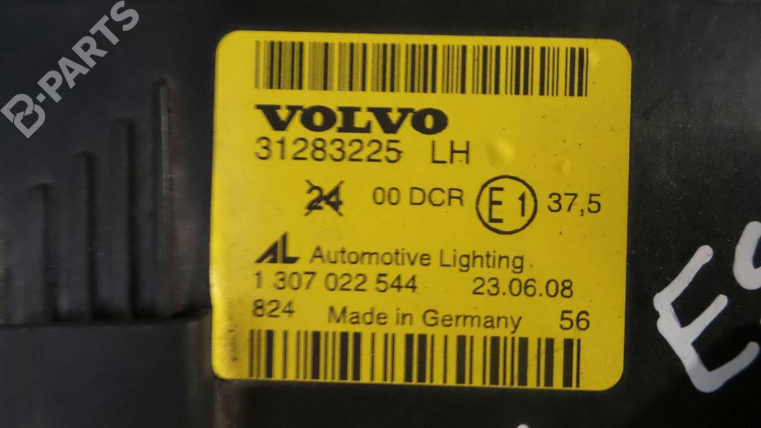 Left Headlight Volvo C70 Ii Convertible 542 56497 Fuse Box 31283225lh 1307022544 2 Doors