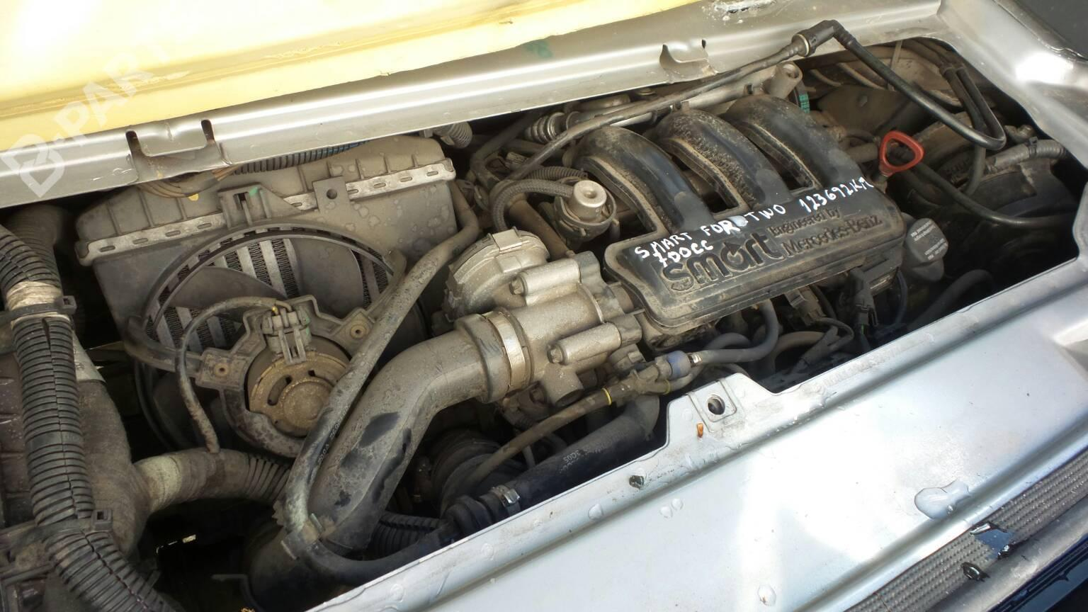 Smart Car Engine >> Engine Smart Fortwo Coupe 450 0 7 450 333 B Parts