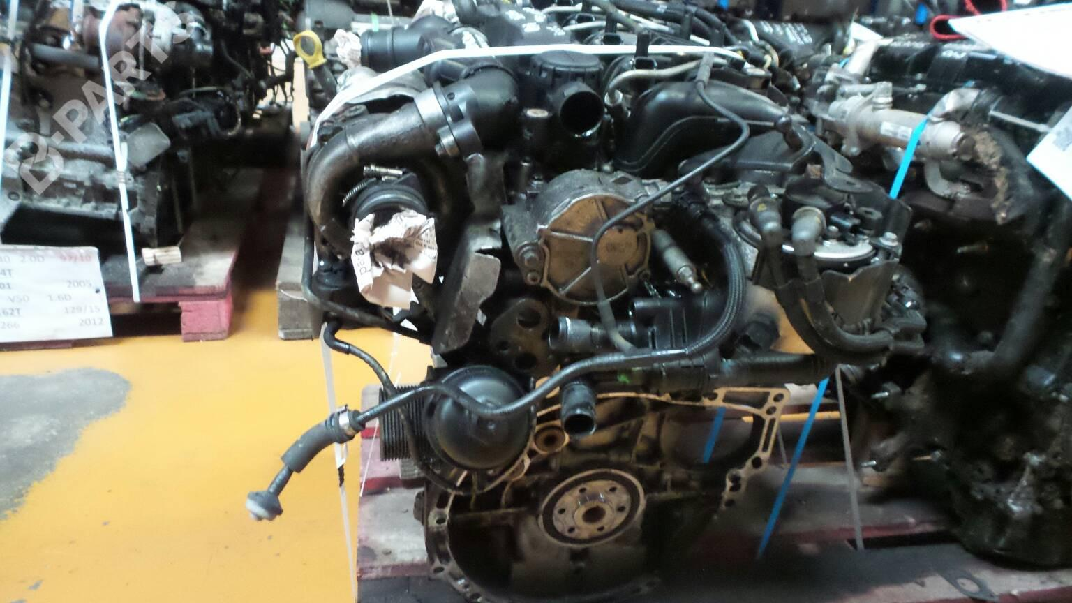 Engine VOLVO S40 II (MS) 1.6 D 77239