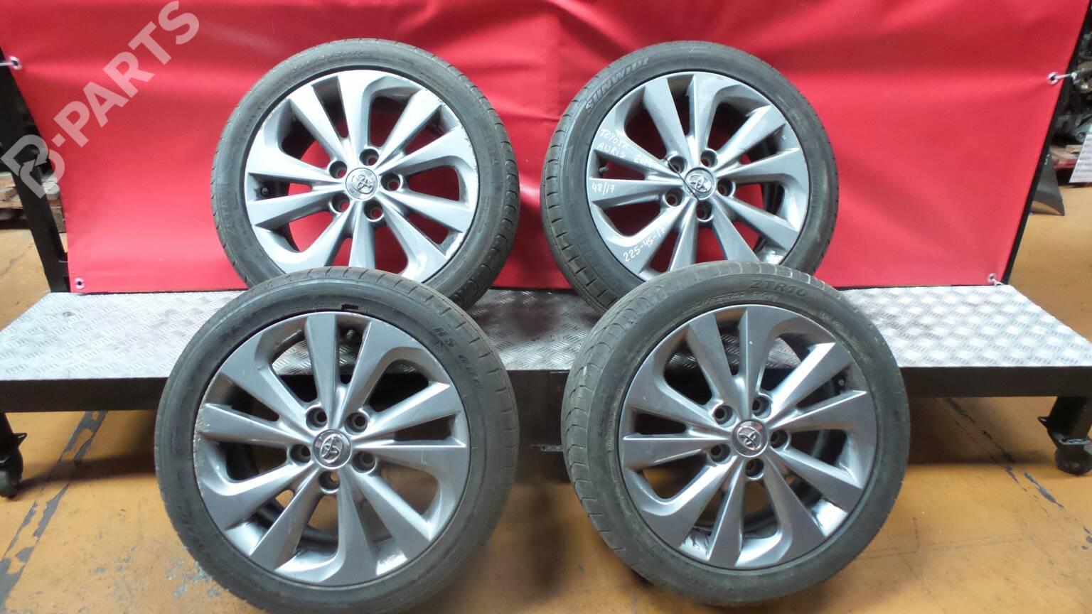 Toyota Auris 17 Original Alu Felgen Mit 225 45 17 Gjr Neuwertig
