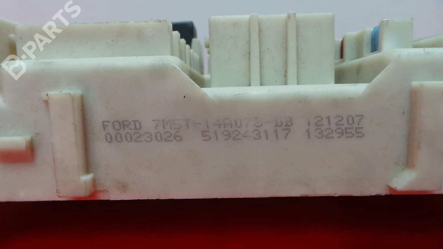 Fuse Box Ford Focus Ii Da Hcp 16 1283243 Doors 7m5t 14a073 Db 519243117