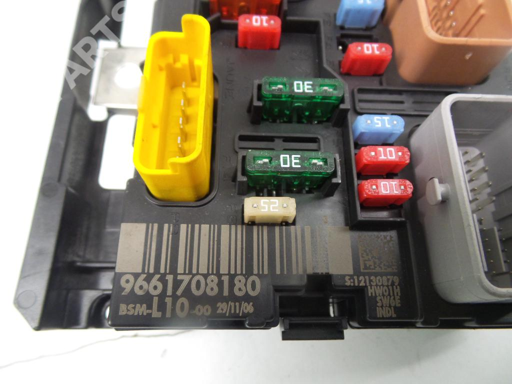 Peugeot 207 Fuse Box Trusted Wiring Diagrams Removal Wa Wc 1 6 Hdi 943630 107
