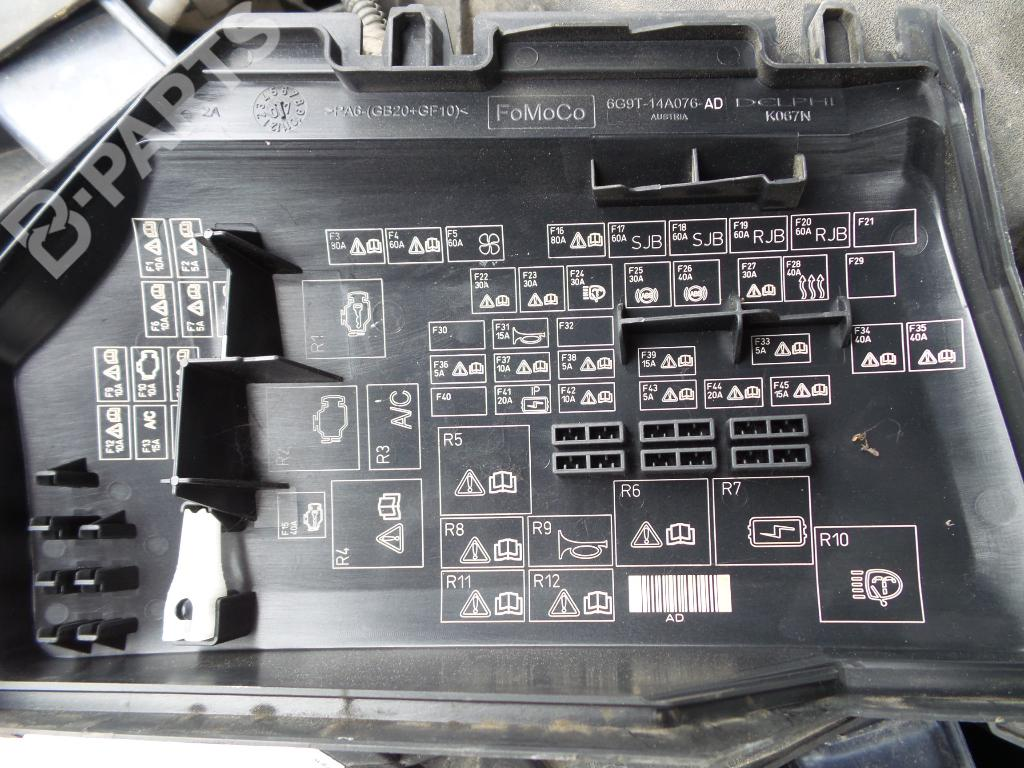 Fuse Box Ford Mondeo Iv Ba7 20 Tdci 1042289 Location 6g9t14a076ad Tdci4 Doors