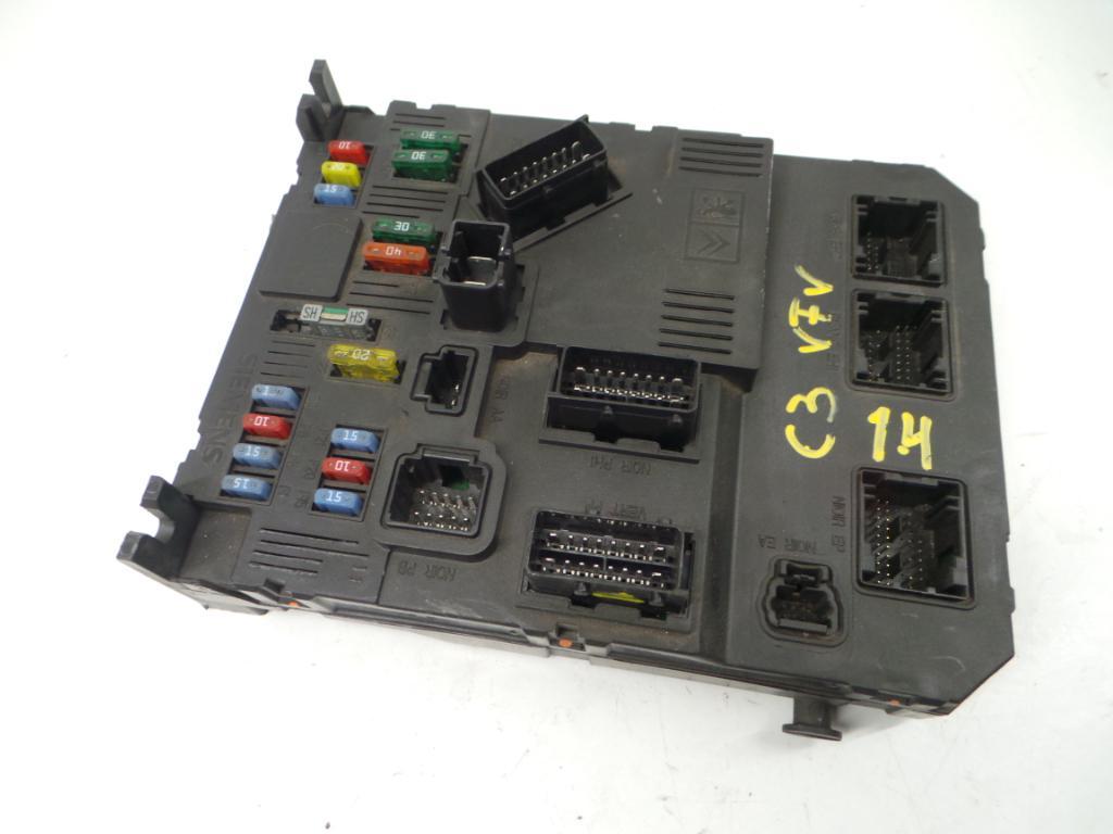 Fuse Box CITROËN, C3 I (FC_, FN_) 1.4 HDi(3 doors
