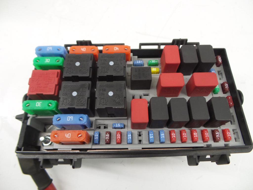 Fuse Box 51775622 / DS / TBZ FIAT, GRANDE PUNTO (199_) 1.3 D