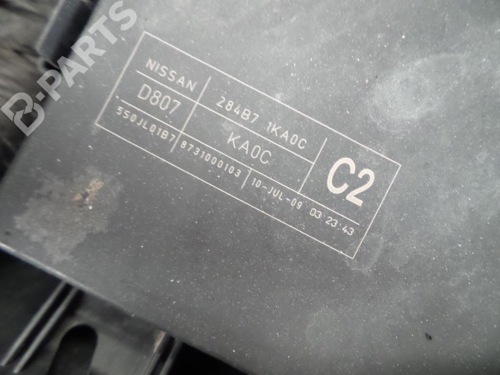 Fuse Box 284B71KA0C / 550JL01B7 / 8731000103 NISSAN, JUKE (F15) 1.6(5