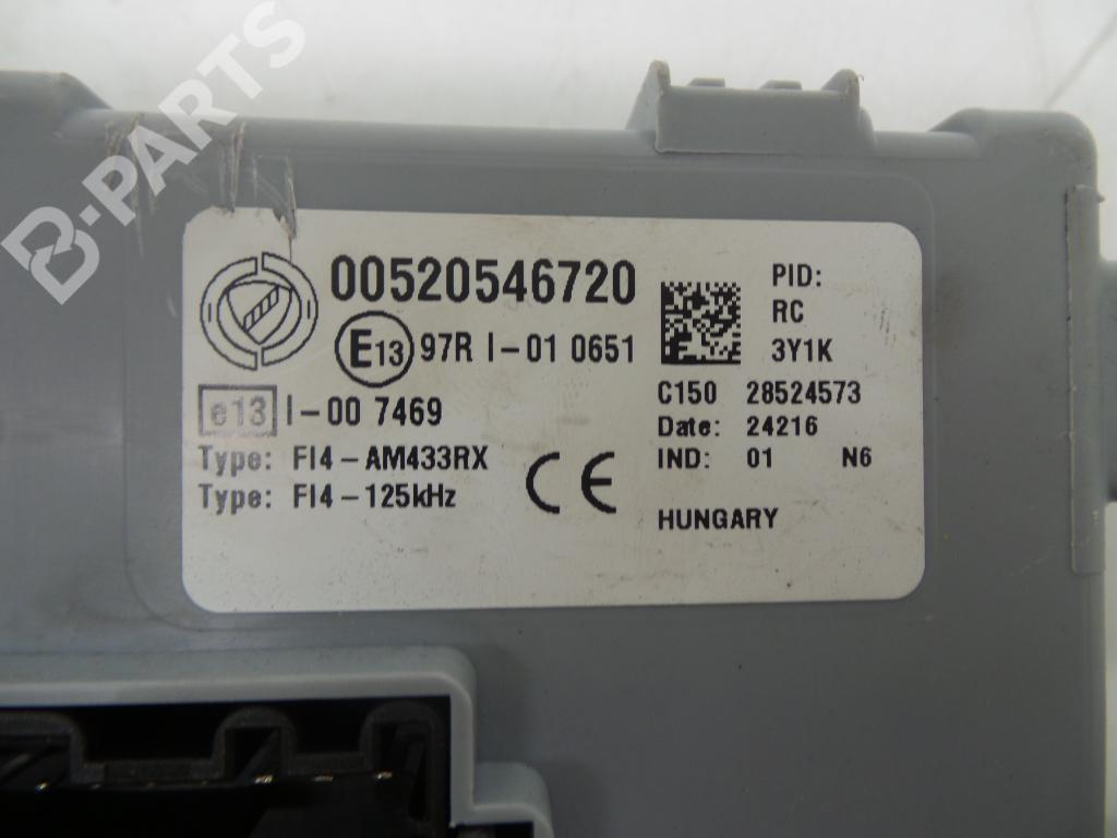 ... Fuse Box 00520546720 FIAT, 500 (312_) 1.2(3 doors) (69hp