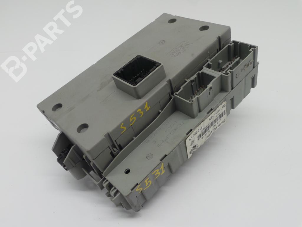 Fuse Box Fiat Bravo Ii 198 14 198axa1b 1253294 For 51863219 503440180503