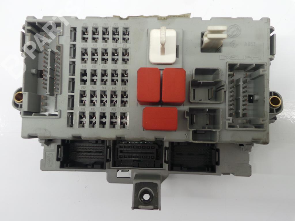 ... Fuse Box 51863219 / 503440180503 FIAT, BRAVO II (198_) 1.4 (198AXA1B)  ...