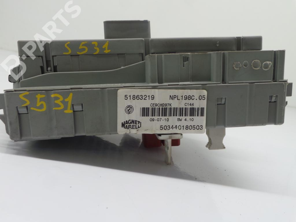 Fuse Box For Fiat Bravo Wiring Library 2011 51863219 503440180503 Ii 198 14