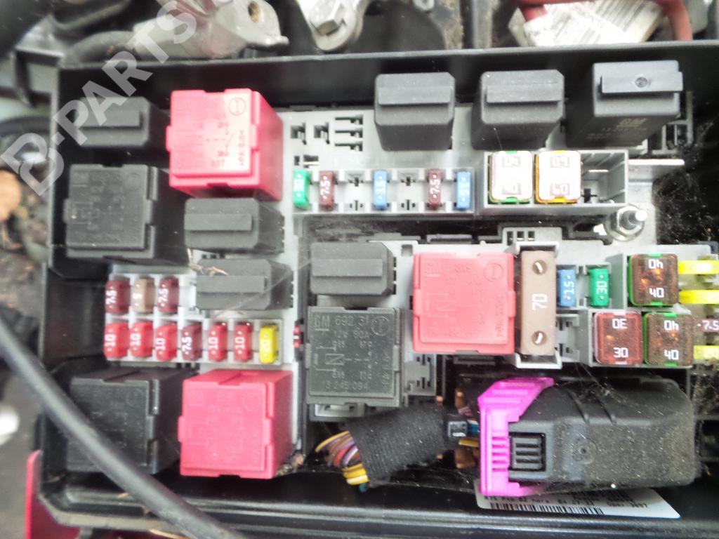 Fuse Box Vauxhall Combo Cdti Fuse Box on