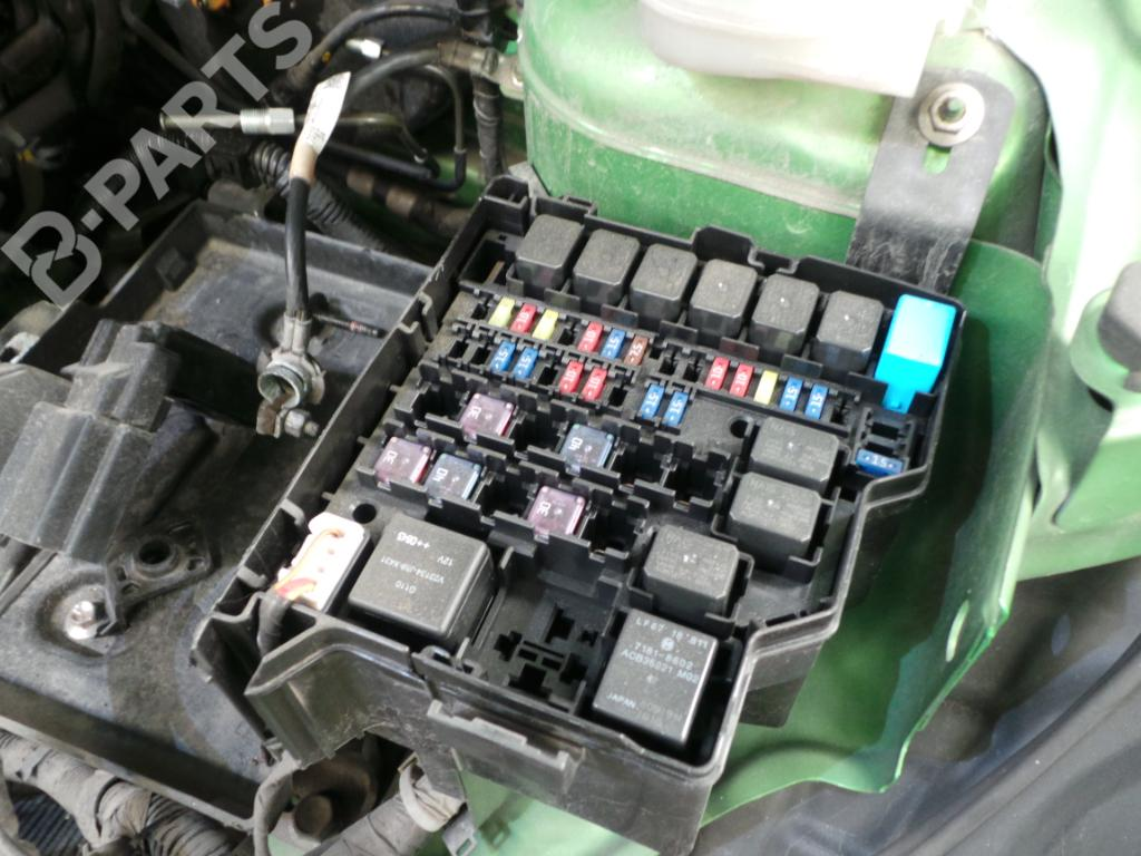 on 1997 Mazda B2300 Fuse Box Diagram
