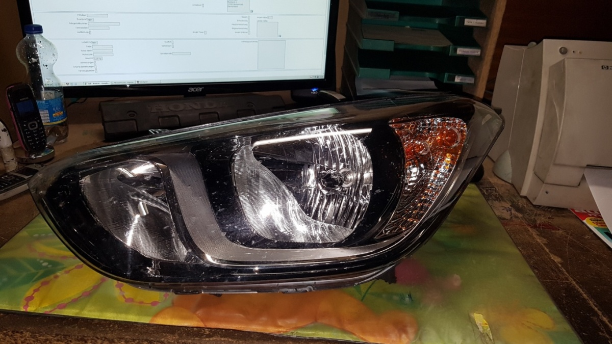 Left Headlight HYUNDAI i20 (PB, PBT) 1 2 921014P500|HYUNDAI