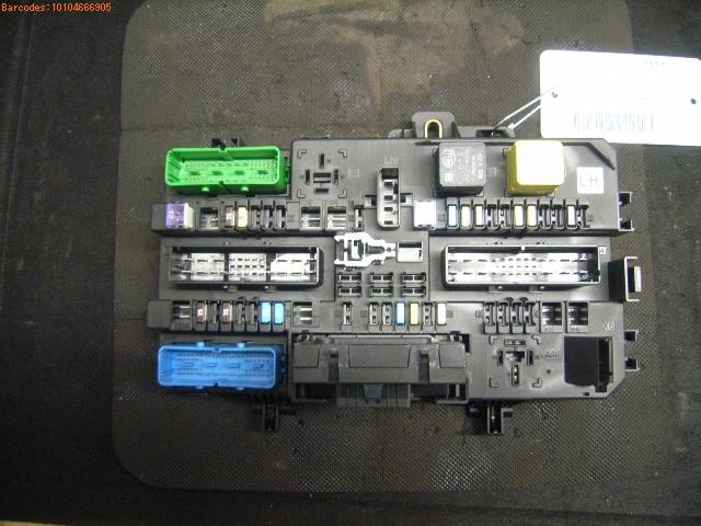 fuse box 13268286lh|sonstige| opel, astra h estate (a04) 1 7 cdti