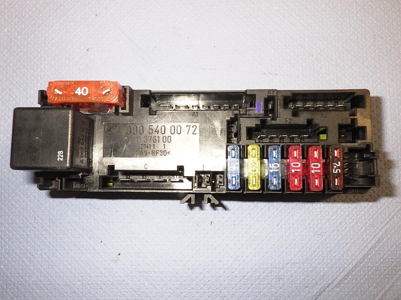Fuse Box A0005400072|MERCEDES-BENZ| MERCEDES-BENZ, C-CLASS (