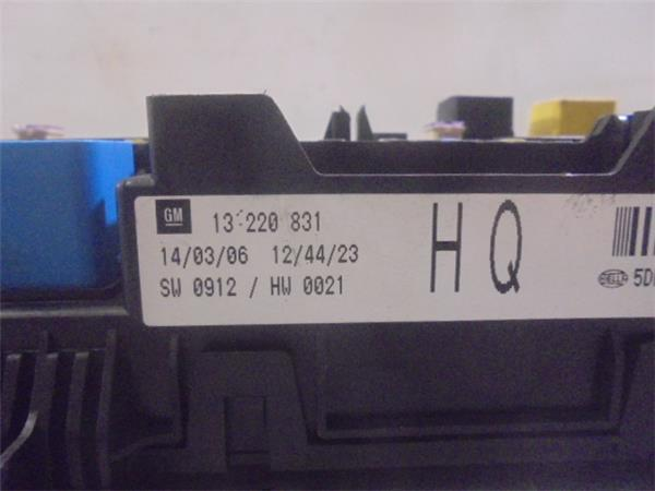 fuse box 13220831 0