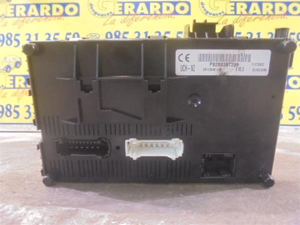 fuse box Renault Kadjar